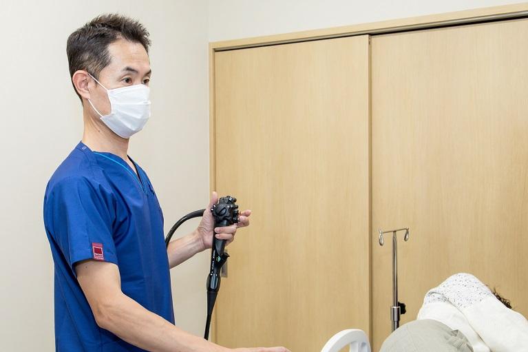 下痢が続く場合には大腸内視鏡検査をおすすめします