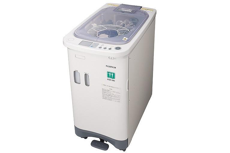 内視鏡専用の洗浄機で感染対策の徹底